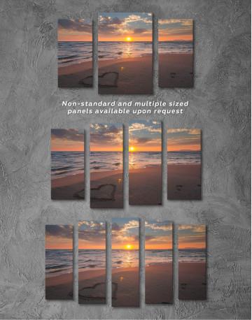 Coastal Sunset Canvas Wall Art - image 4