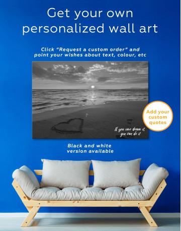 Coastal Sunset Canvas Wall Art - image 5