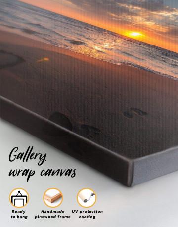 Coastal Sunset Canvas Wall Art - image 1