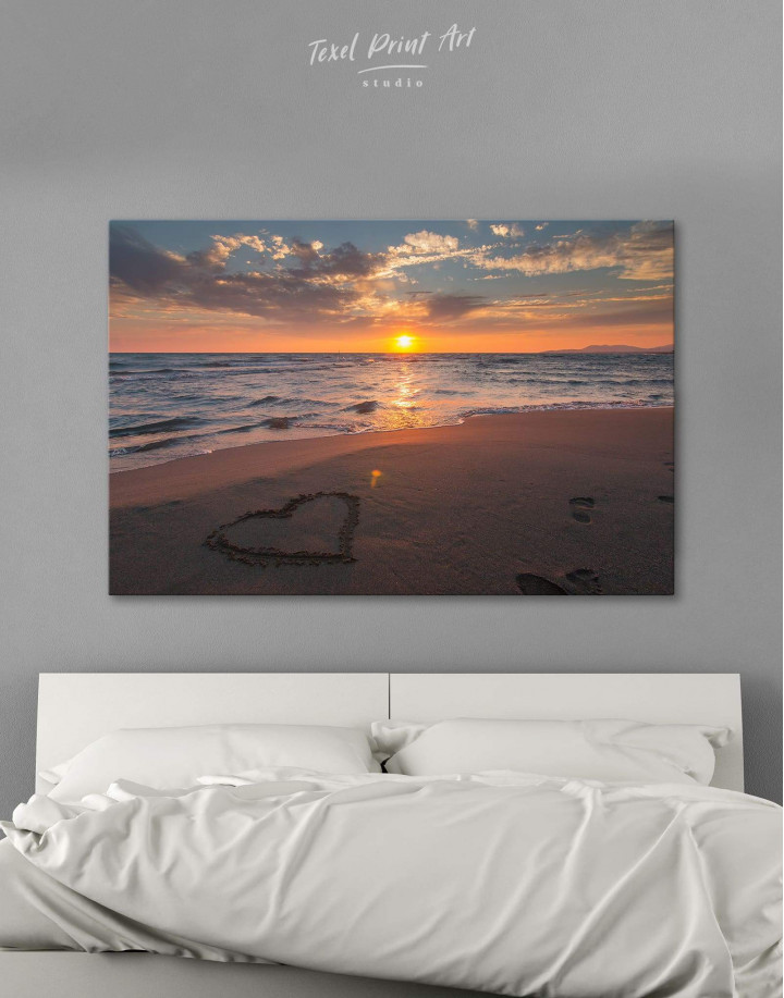 Coastal Sunset Canvas Wall Art