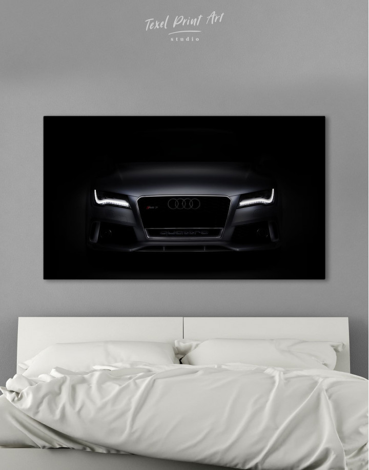 Audi RS7 Sportback Canvas Wall Art - Image 0