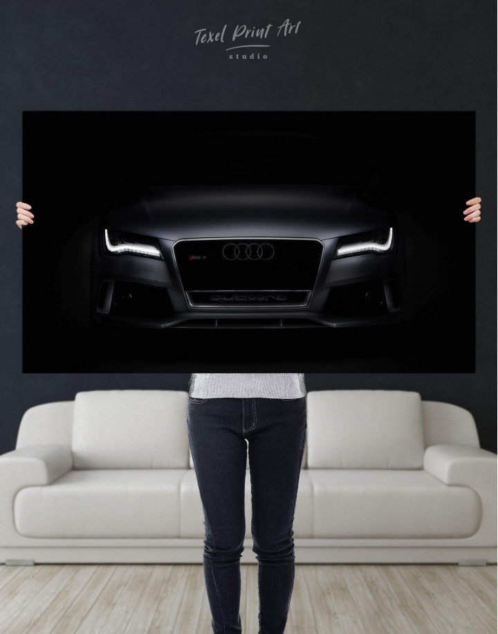 Audi RS7 Sportback Canvas Wall Art - Image 4