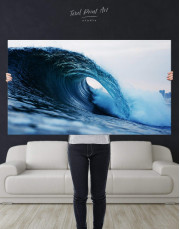 Ocean Wave Canvas Wall Art - Image 4