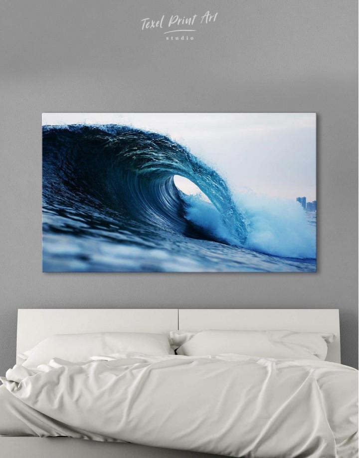 Ocean Wave Canvas Wall Art - Image 0