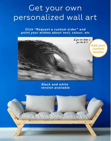 Ocean Wave Canvas Wall Art - image 1