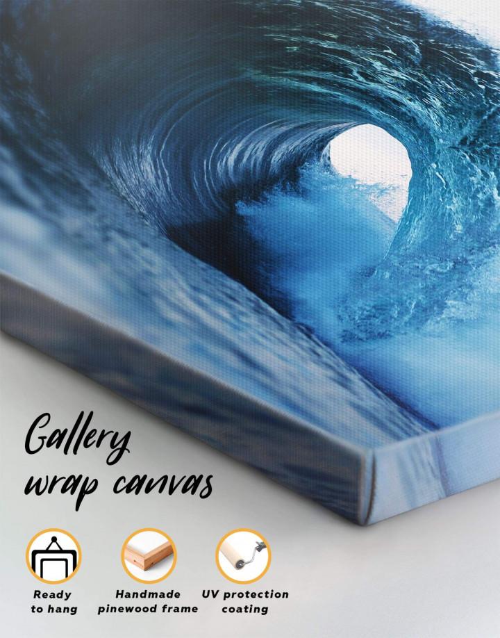 Ocean Wave Canvas Wall Art - Image 5