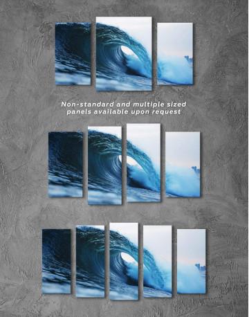 Ocean Wave Canvas Wall Art - image 2