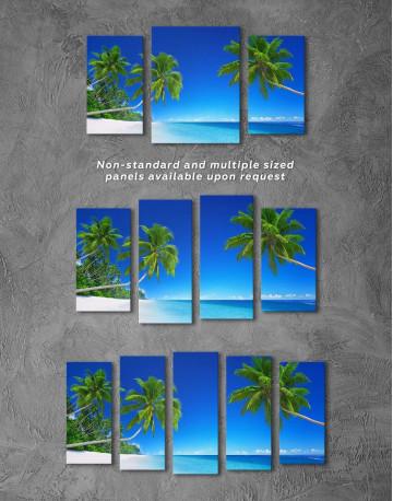 Tropical Seascape Canvas Wall Art - image 4