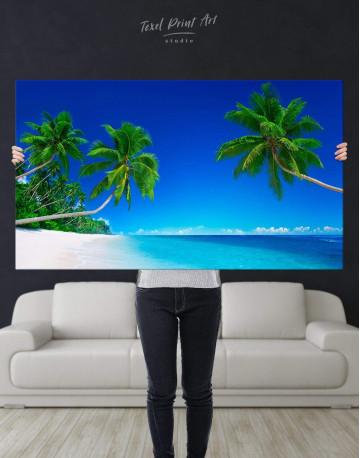 Tropical Seascape Canvas Wall Art - image 2