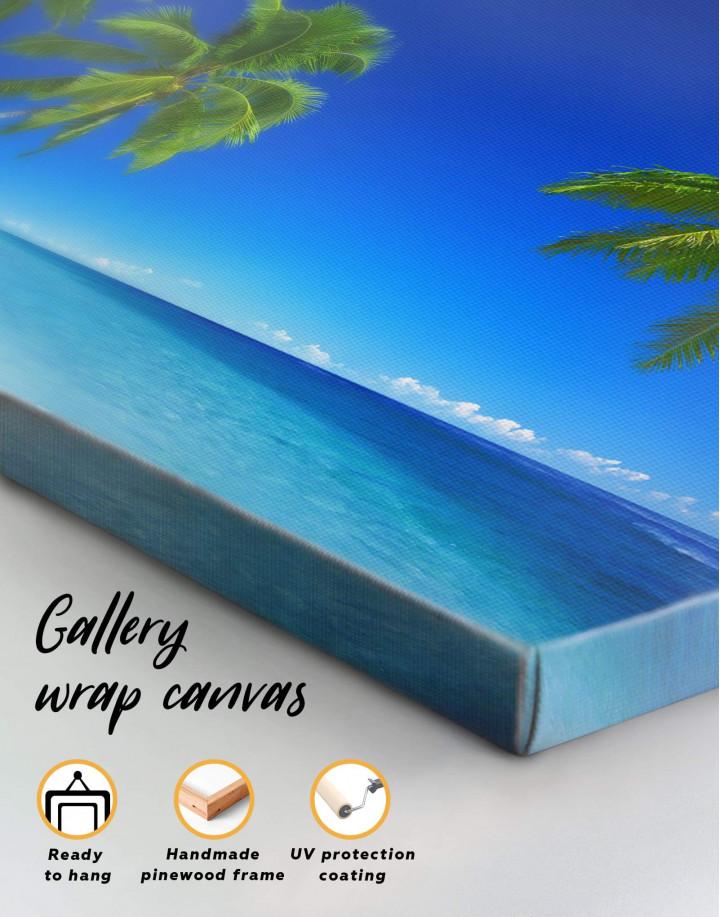 Tropical Seascape Canvas Wall Art - Image 5