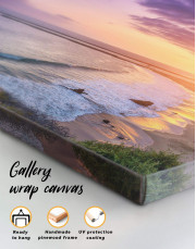 Sea Sunset Canvas Wall Art - Image 5