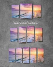 Sea Sunset Canvas Wall Art - Image 2