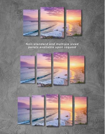 Sea Sunset Canvas Wall Art - image 4