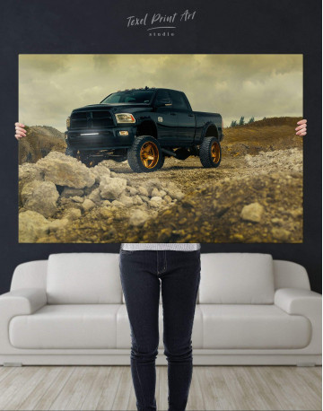 Dodge  Car Wall Art Canvas Print Canvas Wall Art - image 4