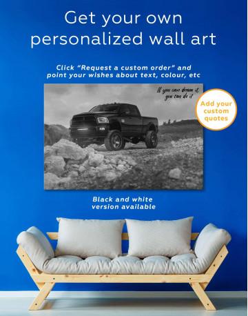 Dodge  Car Wall Art Canvas Print Canvas Wall Art - image 1