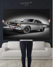 Plymouth Hemi Roadrunner Pro Touring Canvas Wall Art - Image 2