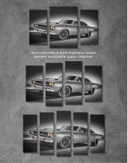 Plymouth Hemi Roadrunner Pro Touring Canvas Wall Art - Image 4