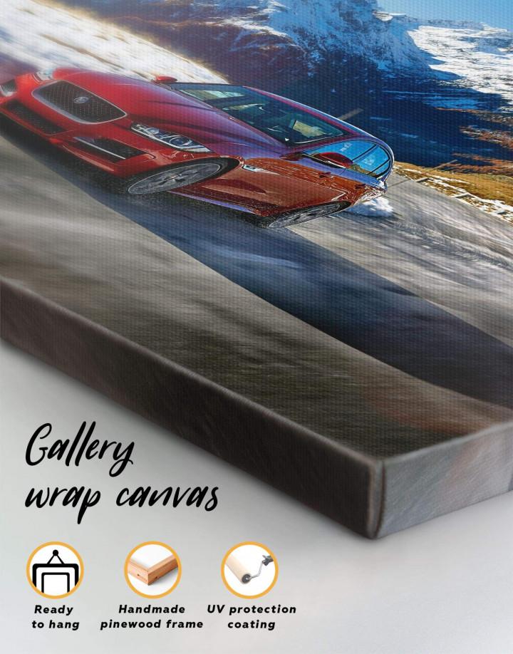Jaguar XE Canvas Wall Art - Image 1