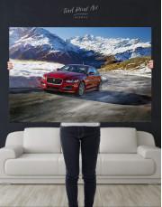 Jaguar XE Canvas Wall Art - Image 2