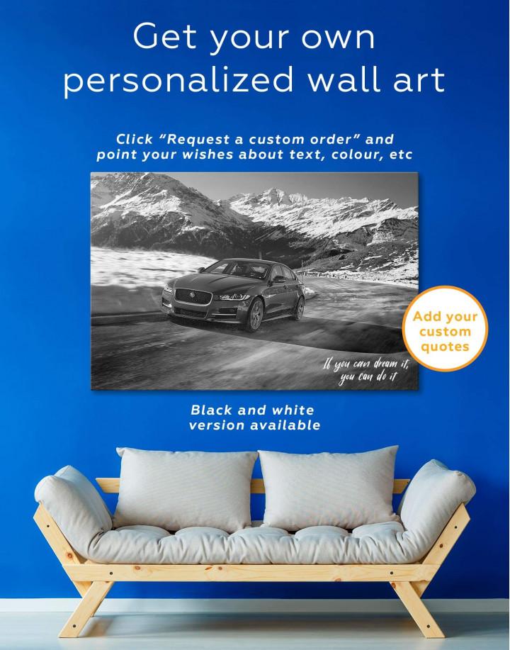 Jaguar XE Canvas Wall Art - Image 5