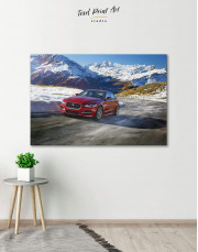 Jaguar XE Canvas Wall Art