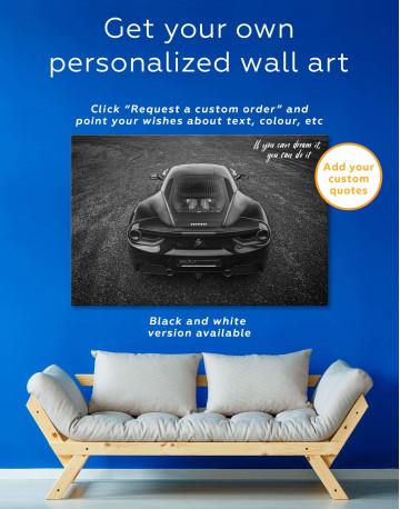 Ferrari 488 GTB Canvas Wall Art - image 1