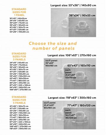 Ferrari 488 GTB Canvas Wall Art - image 3