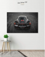 Ferrari 488 GTB Canvas Wall Art