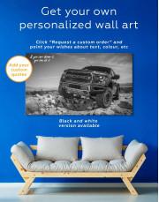 Blue Ford F-150 Raptor Canvas Wall Art - Image 5