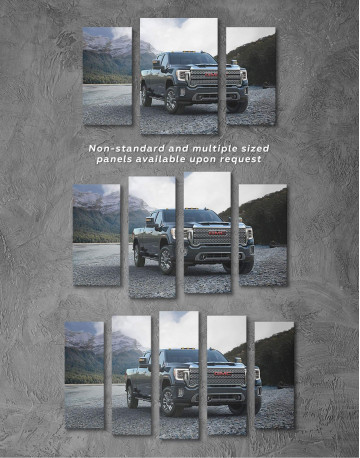 2020 GMC Sierra Heavy Duty Canvas Wall Art - image 2