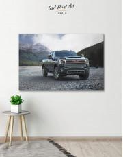 2020 GMC Sierra Heavy Duty Canvas Wall Art