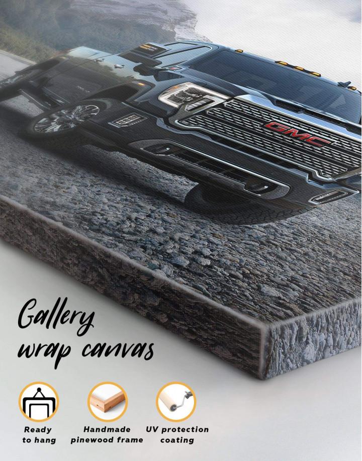 2020 GMC Sierra Heavy Duty Canvas Wall Art - Image 5