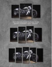 Harley Davidson V-Rod Muscle Canvas Wall Art - Image 2