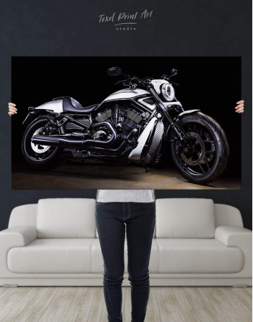 Harley Davidson V-Rod Muscle Canvas Wall Art - image 4