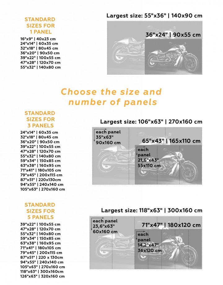 Harley Davidson V-Rod Muscle Canvas Wall Art - Image 3