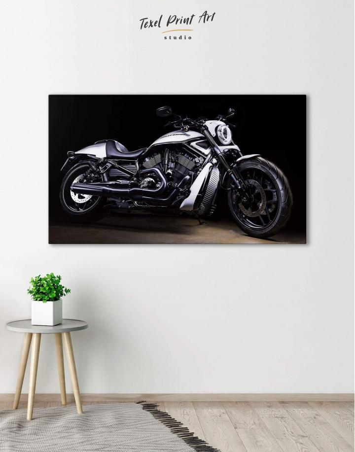 Harley Davidson V-Rod Muscle Canvas Wall Art