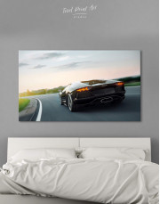 Lamborghini Aventador Canvas Wall Art