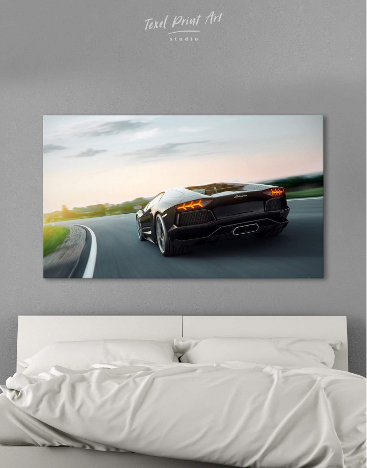 Lamborghini Aventador Canvas Wall Art - Image 0