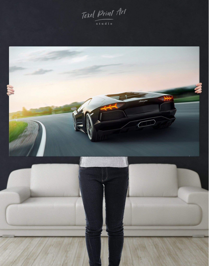 Lamborghini Aventador Canvas Wall Art - Image 5