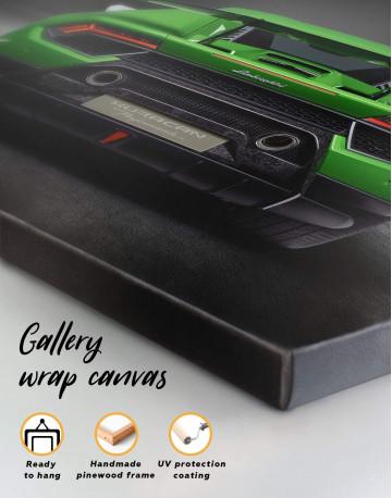 Lamborghini Huracan Performante Canvas Wall Art - image 5