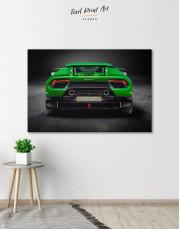 Lamborghini Huracan Performante Canvas Wall Art