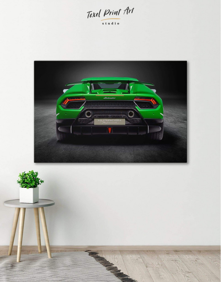 Lamborghini Huracan Performante Canvas Wall Art - Image 0