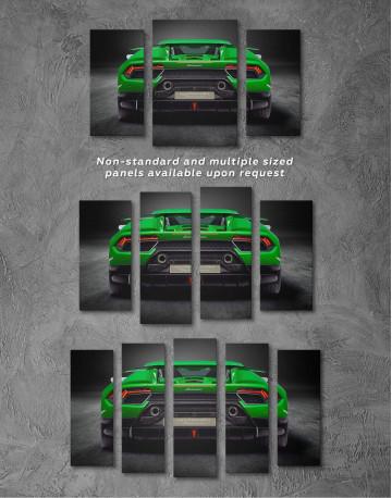 Lamborghini Huracan Performante Canvas Wall Art - image 2