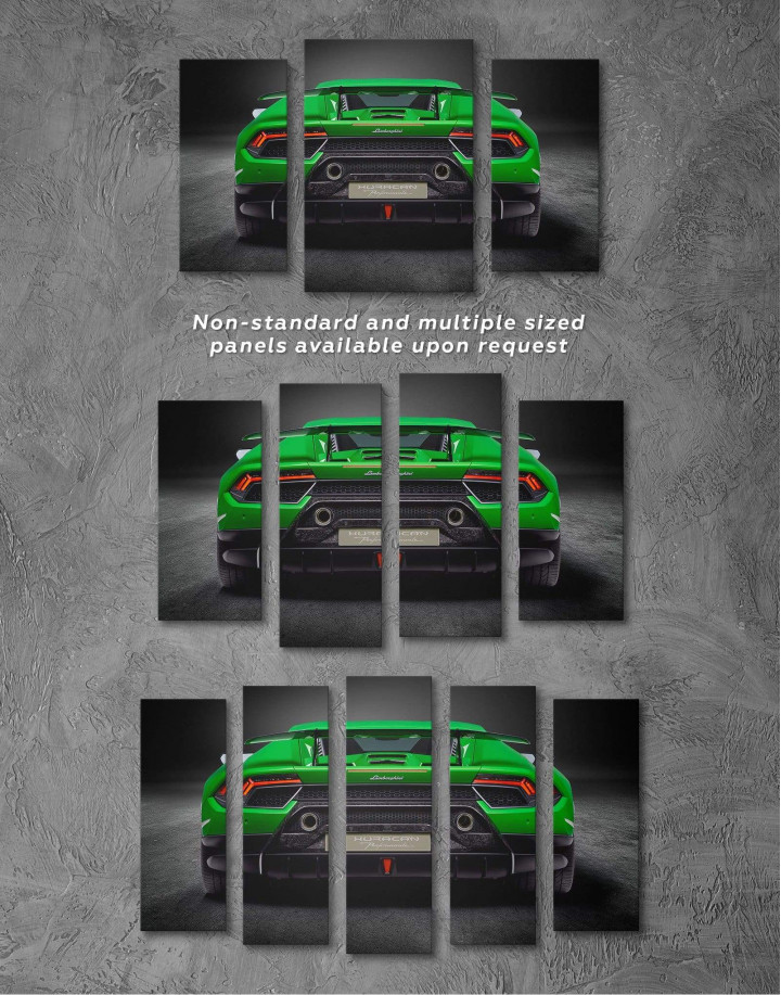 Lamborghini Huracan Performante Canvas Wall Art - Image 2