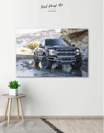 2017 Ford F-150 Raptor Canvas Wall Art