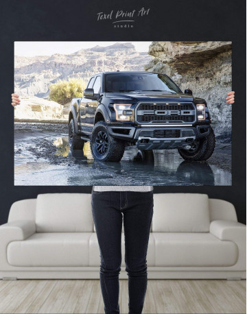 2017 Ford F-150 Raptor Canvas Wall Art - image 2
