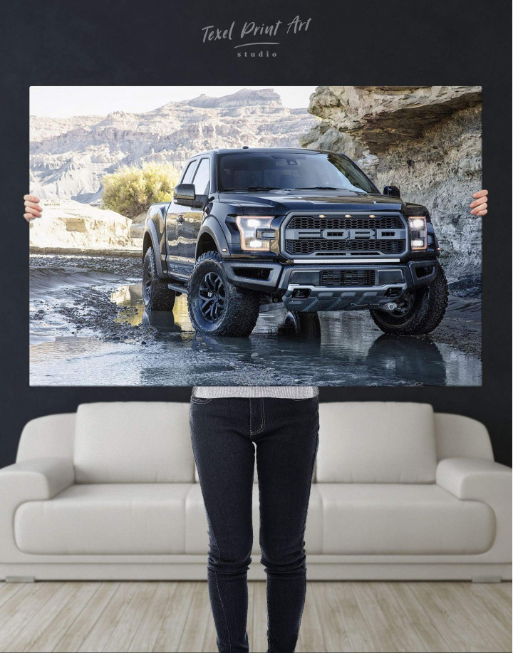 2017 Ford F-150 Raptor Canvas Wall Art - Image 4
