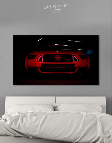Ford Mustang RTR Canvas Wall Art