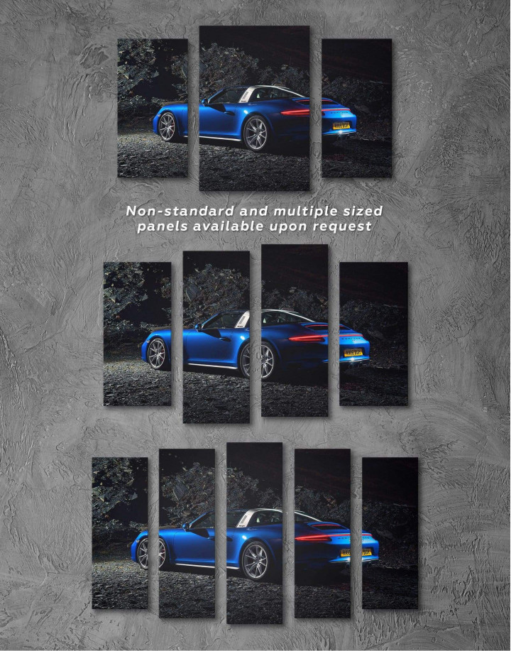 Porsche Targa 4 Canvas Wall Art - Image 2