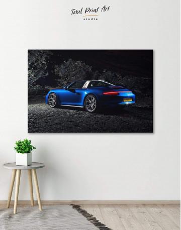 Porsche Targa 4 Canvas Wall Art